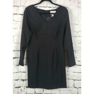 HUGO BUSCATI COLLECTION Black Sheath Dress